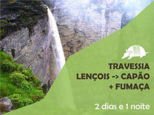 Travessia Lençois -> Capão + Cachoeira da Fumaça