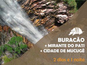 TATU roteiros pati buracao 04out18 300x225 - Cachoeira do Buracão + Mirante do Pati + Mucugê = 2 dias e 1 noite