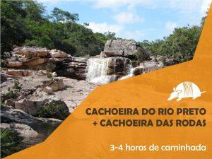 TATU roteiros riopreto 300x225 - Cachoeira do Rio Preto + Cachoeira das Rodas