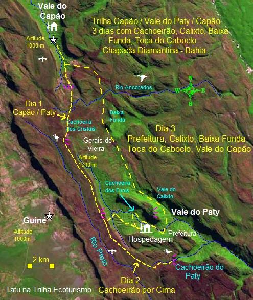 Capão Pati Capãook - Vale do Pati - Trilha do Calixto - De 3 a 5 dias