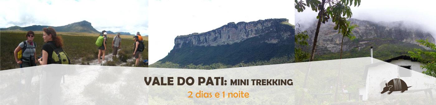 TATU roteiros Pati MINI banner - Vale do Pati - mini trekking