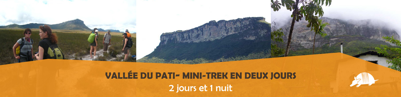 TATU roteiros FR minipati banner - Introduction au Pati: mini-trek en deux jours