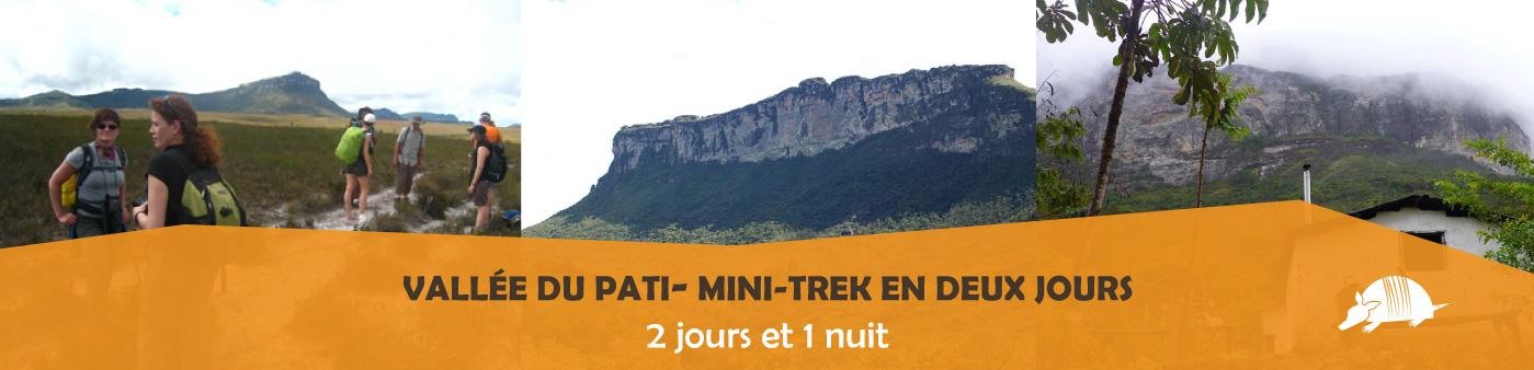 TATU roteiros FR minipati banner - Introduction au Pati: mini-trek en deux jours
