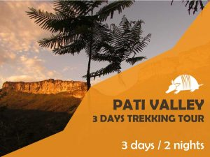 TATU roteiros ENG pati 300x225 - A 3 days trekking tour to Pati Valley, central area of the National Park