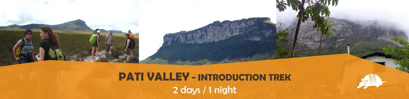TATU roteiros ENG patimiini banner - Introduction to Pati Valley: 2-day Trek