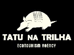 TATUNATRILHA logo ENG branco - Tatu na Trilha ecotourism agency