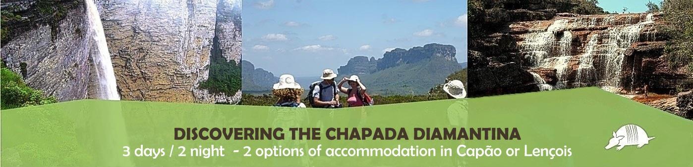 TATU roteiros ENG DISCOVERING Riachinho Léa - Discovering the Chapada Diamantina